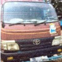 Kurator CV. Tirta Mapan Perkasa (Dalam Pailit)-Lot 11-TOYOTA Tipe DYNA 110 FT Nopol B 9568 MK, tahun 2011, STNK Ditilang