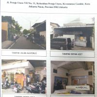 Tim Kurator Johan Konggidinata (Dalam Pailit):Sebidang tanah dan bangunan luas tanah 289 m2, Jl. Petojo Utara VII No. 11, rt. 15/03