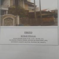 Pengadilan Negeri Jakarta Selatan:4. Sebidang tanah seluas 187 M2, dengan Sertifikat Hak Milik No. 3626/Pondok Pinang, berikut bangunan ruma