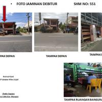 KSP Area Medan: b. Tanah seluas 193 m2 & bangunan (SHM No551) di Jl. Besar Lima Puluh, Kel Lima Puluh Kota, Kec Lima Puluh Kab Batubara