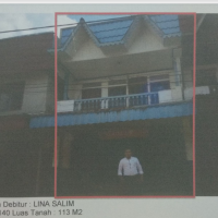BRI SGU 1: bid tnh & bngn SHM 140 Lt. 113 m2, di Desa Hilir, Kec. Balai Batang Tarang, Kab. Sanggau