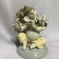 Lot 7 : Patung Keramik Ganesha tinggi 24cm (handmade in Spain)