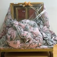Lot 14 : Parsel Pajangan Kaligrafi dan Bed Cover