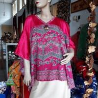 1 (satu) buah Blouse Batik Wrna Pink
