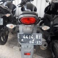 (lot 35) 1 unit kendaraan roda 2 merk Honda,GL 15A1RR M/T ,149 CC ,Tahun 2013 ,Hitam ,Nopol L 4414 RY (tanpa bpkb)