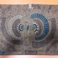 Kios Batik Bu Rini_1 (satu) lembar Batik Tulis Lawasan motif Babon Angrem
