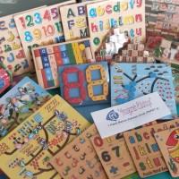 UMKM - 1 Paket Mainan Edukasi Anak (Paket A)