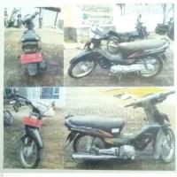 BPS Pwkt: 1 Buah Kendaraan Roda 2 Merk Honda ND125, Tahun 2003, Nopol T 3105 A.