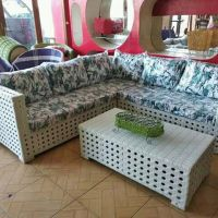 Lelang Sukarela Produk UMKM:  50 set sofa leter L