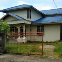 BPR CAKHRA 2 : Tanah + Bangunan SHM No. 612  luas 526 m2 di Jl. Tanjung Raya I Gg Haji Said Pontianak Kalbar