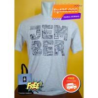 1 (satu) kaos jember biru daun doodle dewasa lg pendek katun premium size XL di Kabupaten Jember
