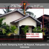 5. BRI Langsa 05-11: Sebidang tanah seluas 306 m2 berikut bangunan rumah diatasnya, di Jln Keude Geurubak Desa Keude Blang Kec. Idi Rayeuk