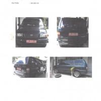 Kanwil Kemenag DIY_4: 1 unit Toyota Kijang KF 80, Nopol AB 1823 UA, tahun pembuatan 1999, BPKB & STNK lengkap