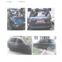 Kanwil Kemenag DIY_2: 1 unit Toyota Kijang KF 80, Nopol AB 1891 UA, tahun pembuatan 1997, BPKB & STNK lengkap