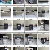 KPP Garut : 1 (satu) paket BMN berbagai jenis/merk/tipe & tahun perolehan, kondisi rusak berat