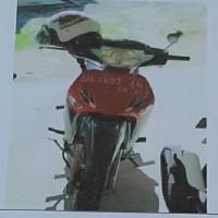 (BTKL Ambon) 1 unit Honda Supra DE 4697 AM tahun 2005 kondisi Rusak Berat