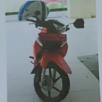 (BTKL Ambon) 1 unit Suzuki New Smash DE 4983 AM tahun 2006, kondisi Rusak Berat
