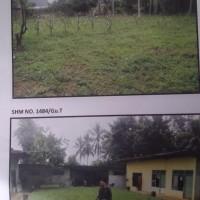 Sebidang tanah luas 587 m2 berikut bangunan rumah di Kota Bandar Lampung