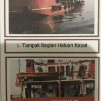 KURATOR PT PELITA ANUGERAH BAHARI & H.MUHAMMAD YASMIN (DALAM PAILIT)-1 (satu) Self Propelled Oil Barge (SPOB) Anugerah 99