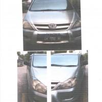 BPJS Ketenagakerjaan Cab.Gorontalo: Mobil Innova G Tahun 2007, Nopol DM 1352 AE di Kota Gorontalo