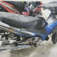 Balitbangkes Papua: Honda NF 125 SD Hitam Biru Tahun 2006 Nopol B 6634 PBQ