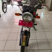 BPS Kota Pematangsiantar-1 (satu) unit Sepeda Motor merk Honda Megra Pro CW/GL 160 D Th. 2009 BK-2388-T (BPKB Ada, STNK Ada)