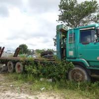 KPP Pangkalan Bun : 1 unit Mobil beban  Merk Nissan, Model Truk Cargo, Nomor Polisi KH 9999 G