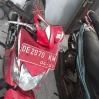 (Pemkab Buru Selatan) 1 unit Motor merk/type Honda Nopol DE 2070 KM Tahun pembuatan 2011 Kondisi rusak ringan