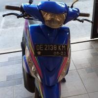 (Pemkab Buru Selatan) 1 unit Motor merk/type Yamaha Nopol DE 2138 KM Tahun pembuatan 2012 Kondisi rusak ringan