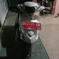 (Pemkab Buru Selatan) 1 unit Motor merk/type Yamaha Nopol DE 2139 KM Tahun pembuatan 2012 Kondisi rusak ringan