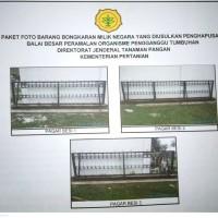 BBPOPT Karawang: 1 (Satu) Paket Bongkaran Bangunan Gedung berupa Pagar Besi Pintu Gerbang (Pintu Dorong) Tahun 1987