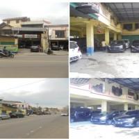 BUKOPIN:Sebidang tanah + bangunan Ruko Jln. TB. Suwandi, Link. Cirasas, No.79, RT.04/16, SHM No.546 luas tanah 434 m2,Kel.Serang