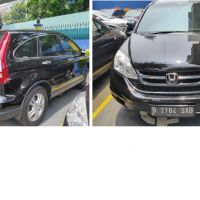 KPP Pademangan : 1 unit Mobil Honda CRV 2.4 A/ T Tahun 2012