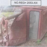 1 (satu) unit Jeep Merek Suzuki katana  Tahun 1995 No.Reg.2053-XIII kondisi rusak berat