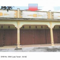 BRI.Sanggau.1: Tanah + Ruko 1 pintu 1 lantai, SHM 3694, Lt 69 m2, Jalan Perintis, Gang Sago, Beringin, Kapuas, Sanggau