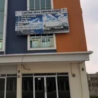 BNI.Syariah:Dua bidang tanah luas total:75 m2 satu hamparan +bangunan Ruko luas 217,5 m2,Komplek Ruko Serang Boulevard Blok C No. 16 Serang