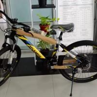 Sukarela: 1 (Satu) Unit Sepeda MTB, Merek ATLANTIS, Warna Black/Yellow, Kondisi Baru