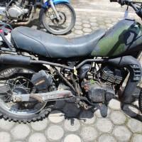 8. BKSDA Jambi Melelang 1 (satu) Unit Sepeda Motor Merk Suzuki TS125, Bensin, Tahun 2002, Nopol : BH 6096 HZ