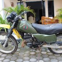 9. BKSDA Jambi Melelang 1 (satu) Unit Sepeda Motor Merk Suzuki TS125, Bensin, Tahun 2000, Nopol : BH 5843 HZ