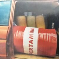 [KejariBkt] 4. 446 (empat ratus empat puluh enam ) liter bahan bakar jenis premium