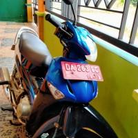KUP Bandar Udara Gusti Syamsir Alam Kotabaru melelang 1 (satu) unit sepeda motor Honda Supra, warna Biru Putih,tahun 2005