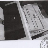1 (satu) paket barang inventaris kantor kondisi rusak berat