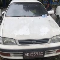 Kanwil DJP Sumatera Utara II-1 (Satu) unit Mobil merk Toyota Corona GLI Tahun 1995, BK-1558-AX (BPKB Tidak Ada, STNK Ada)