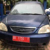 Kanwil DJP Sumatera Utara II-1 (Satu) unit Mobil merk Kia Carens SE Tahun 2006, BK-1150-T (BPKB Ada, STNK Ada)