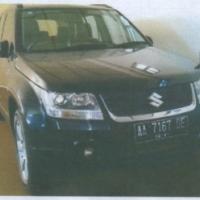 PN Temanggung (Eksekusi): 1 (satu) unit mobil Suzuki Grand Vitara, Nopol AA 7167 DE, Thn 2010, Warna Hitam Metalik, kondisi apa adanya