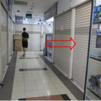 Kurator ADE WIDAGDO-9 : 1 (satu) bidang tanah luas 5,9 M2, berikut bangunan kios diatasnya, di MTC KAREBOSI, Kota Makassar