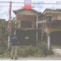 BRI SANGGAU 1 : Tanah + Ruko SHM No. 1969 luas 174 m2 di Jalan Raya Balaikarangan-Malenggang  Kec. Sekayam Kab. Sanggau Kalbar