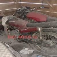 Lot. 8. 1 unit Sepeda Sepeda Motor Suzuki A100 X Tahun 1995, Nomor Polisi  DD 4035 U, di Kemenag. Tana Toraja