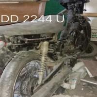 Lot. 13. Sepeda Motor Honda/NF100 Tahun 2000, Nomor Polisi  DD 2244 U, di Kemenag. Tana Toraja