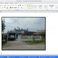 Lelang Eksekusi HT Bank Panin : T/B Luas 555 m2 sesuai dengan SHM No. 1399/Pulo Brayan Darat I - Medan